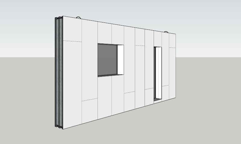 Thermo-Wall prefab panel